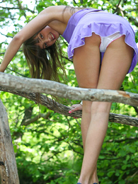 Teen's panties upskirt view is an awesome stuff