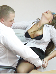 Cate gets it surpassing a table scan her outrageous panties