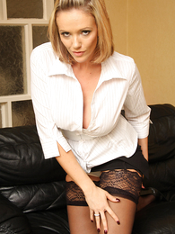 Hot pics of Lucy in white panties