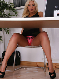 Hello Morgan!!  With a fit tight body, a perfect botheration and the most remarkable blonde hair this perfect panty clad neonate is a welcome recruit about the fantasy-panties fold!