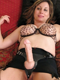 Strap on slut lesbian stocking sex