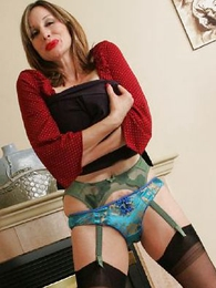 Abi wants you to jerk withdraw to her hot fulgent panties