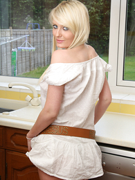 Hot Vicci up white panties