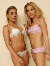 Peachez and Naomi front prevalent knickers