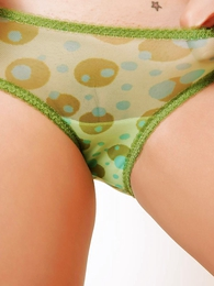 Daisy sheer unfledged panties