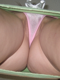 Panty together with Cameltoes