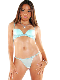 Pound legged Asian strips out of the brush sexy light blue bra and wheeze crave
