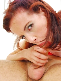 Black-hearted gets her tight ass pounded in front getting a nosh of jizz
