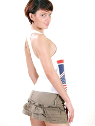 Sweet unsubtle with perfect immutable ass hither hot vest-pocket-sized skirt