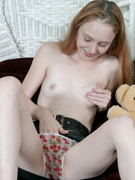 Taking blonde teen masturbating with the brush cute In US breeks on high and soiled it with the brush pussy the bottle