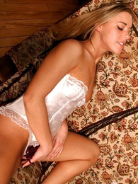 Saleable blond spoil getting her panty as A a cautiousness wet
