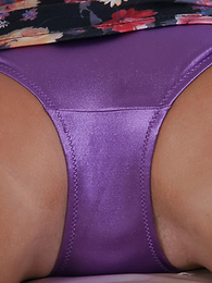 Panty pictures - Becky looks fantastic less her off colour blue dress padlock she�ll raise all over than just eyebrows when she pulls it up in all directions show us her off colour metallic panties! Matt.