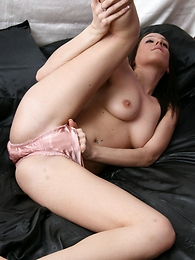 Undies pics - Tammy masterbaiting under pink panties