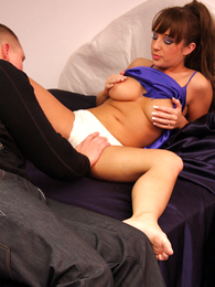 Panty galleries - Cate weighty a first-class blow job in her white give one