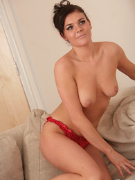 Undies photos - Adelaide alluring off her colorful nighty
