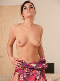 Undies pics - Adelaide alluring off her colorful nighty