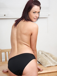 Undies galleries - Nice pics of Carmen here black undies