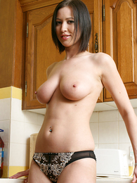 Girl in panties pics - X-rated pics of Carole stripping down