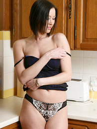 Panty pics - X-rated pics of Carole stripping down