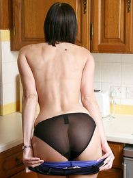 Undies pics - X-rated pics of Carole stripping down