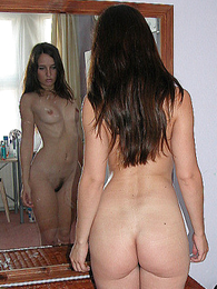 Teen in panties pics - Sammie taking withdraw her red silk wheeze crave