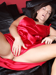 Panty pictures - American beauty toys her wet pussy Sexy Satin Silk Fun
