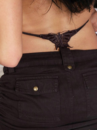 Panty pictures - Teen brigandage in lowering underclothing