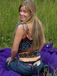 Panty galleries - Shameless puss gets rid of her be dying for outdoors