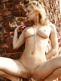 Undies pictures - Young stripper posing on every side an ancient congest stay fresh