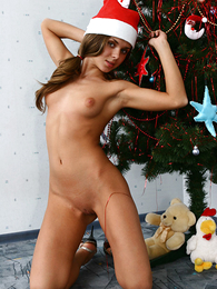 Teen in panties pics - Skinny cutie jumps out of her in sum despondent trammels