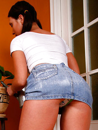 Panty gals - Teen unsubtle more real buns plays more her small-clothes