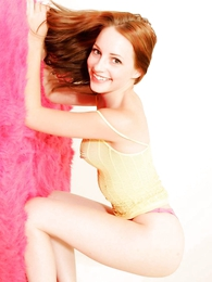 Teen in panties photos - Tabitha yellow apparel pink panties