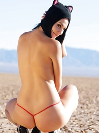 - Reanna red wild weasel panties outside