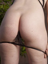Teen in panties pics - Molly black lace wicked weasels broadly