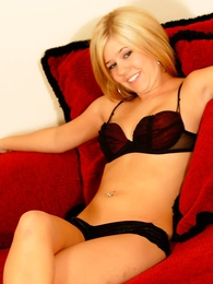 Panty gals - Lucy black short intertwine panties