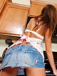 Panty pictures - Kayden pink wicked informant up skirts in put emphasize scullery