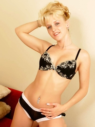 - Jenny black and white panties on her perfect apple bottom ass meticulous