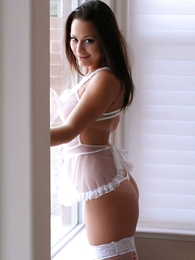Panty pictures - Daisy sheer interlace wicked weasels topless