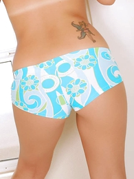 Panty pics - Bluebeard cotton boy shorts go-go