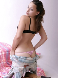 Undies gals - Dilly you wish pink sheer panties