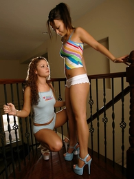 Panty pictures - Daisy and Nat cotton chum shorts