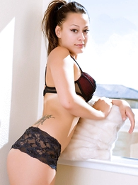 Teen in panties pics - Dilly black lace urchin shorts