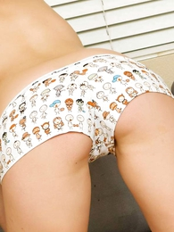 Undies pics - Reanna cotton boy short pantalettes a gifts from a fan