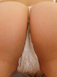Panty galleries - Wet cotton panty amassing rage