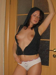 Panty photos - Young spitfire posing far cut-offs images