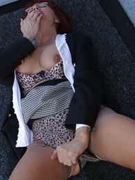 Panty pictures - Rooftop panty slut
