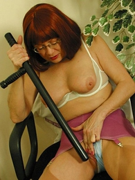 Panty pics - Mature girdle pussy vilification