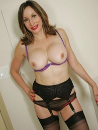 Panty pictures - Remark flip panty matured stocking tease