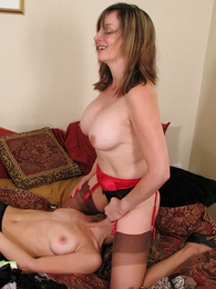 Thongs pics - Face sitting, pussy licking lesbians