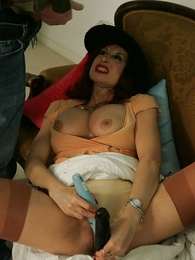 Thongs pics - Mature housewife jerks off and blows retrench